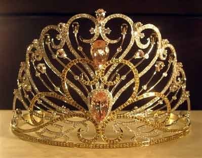 The new Miss Universe crown