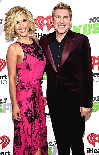 Savannah Chrisley, Miss Tennessee Teen USA 2016 and her father Todd Chrisley, the new director of Miss Florida USA