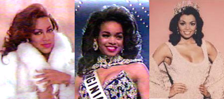 Kenya Moore-Miss USA 1993, Pat Southall-1st runner up to Miss USA 1994, Chelsi Smith-Miss Universe 1995