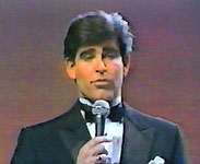 Michael Young was the first Miss Teen USA host