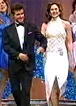 Alan Thicke and Gina Tolleson-Miss World 1990 hosting the 1992 Miss World America pageant