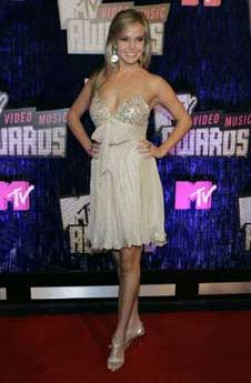 Miss South Carolina Teen USA, Lauren Caitlin Upton at the MTV Video Music Awards