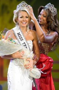 Danielle Doty is crowned Miss Teen USA 2011