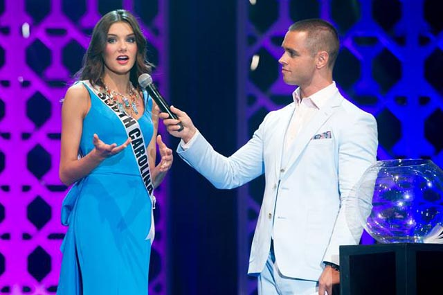 Miss Teen USA 2014, K. Lee Graham answers her judge's question