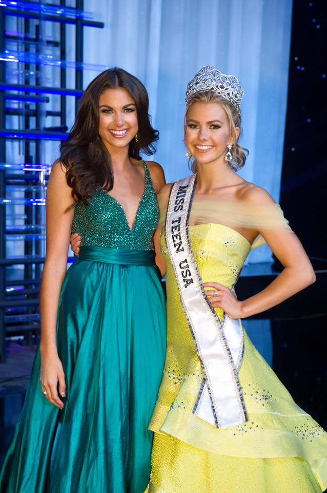 Katherine Haik-Miss Teen USA 2015 and Karlie Hay-Miss Teen USA 2016