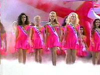 Miss Teen USA 1992 opening number: There are images around us in everything we see.  Some are real and some are fantasy...