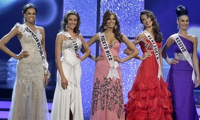 Miss Universe 2009 Top 5