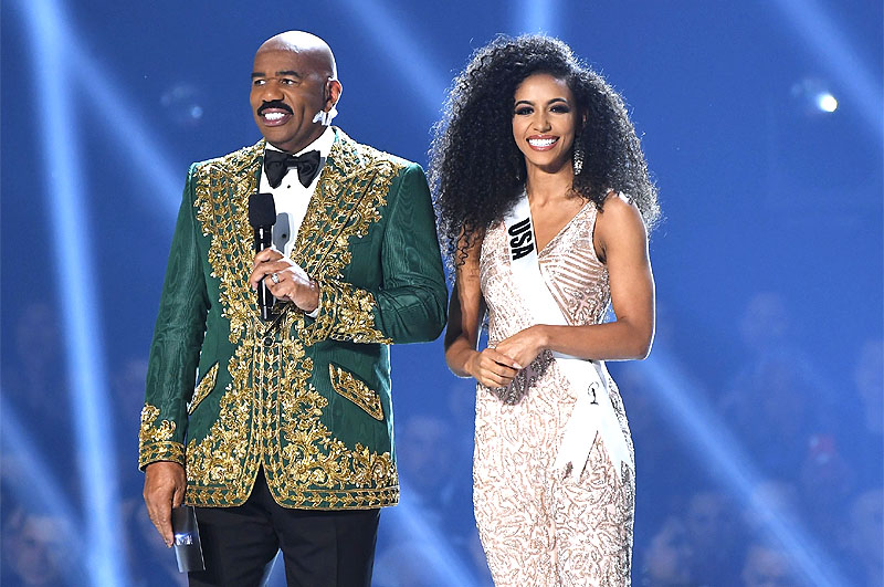Steve Harvey with USA