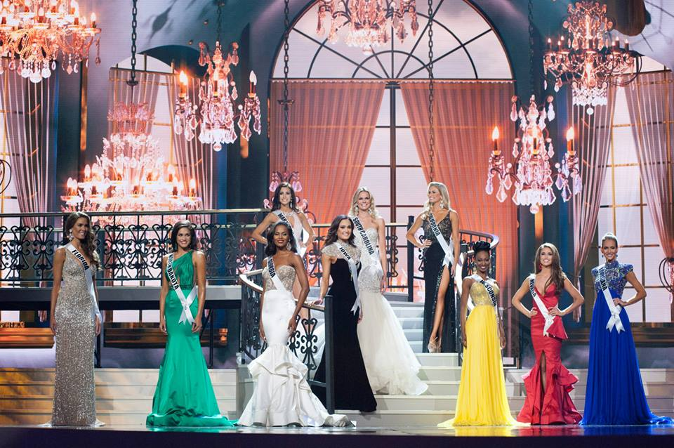 Top 10 for Miss USA 2014