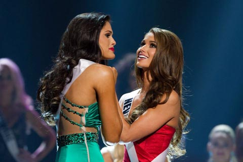Top 2 for Miss USA 2014