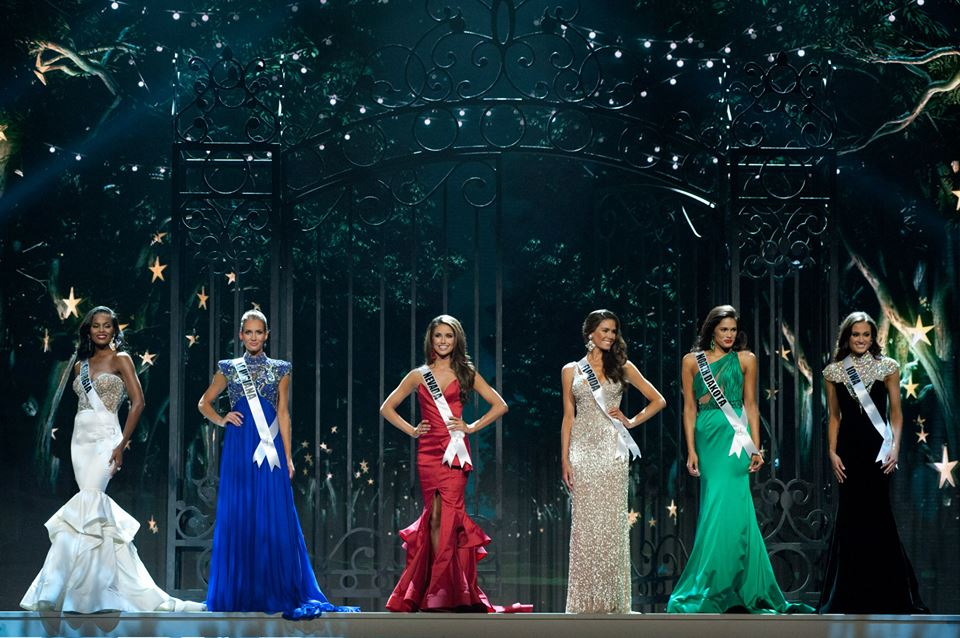 Top 6 for Miss USA 2014