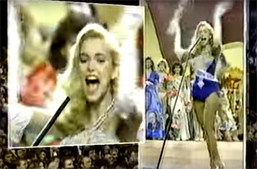 Miss Teen USA 1986, Allison Brown is the 52nd contestant at Miss USA 1987