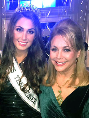 Tennessee-Alexandra Harper with her mother, Sharon Steakly-Miss Tennessee USA 1981